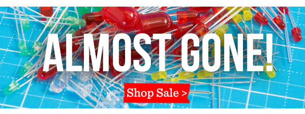 Almost Gone! Shop Sale