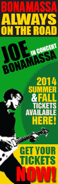 Bonamassa Always on the Road. Joe Bonamassa in concert. 2014 Summer & Fall tickets available here! Get your tickets now!