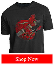 Joe Bonamassa Vintage Guitar Tee - 1972 ES335