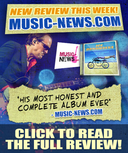 The reviews are in! Musicnews.com says that this is Joe's 'most honest and complete album ever'-Musicnew.com. Click to read the full review!